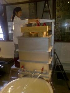 pressing ontario sake izumi